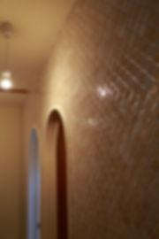 大阪市の住宅リノベーション | 大阪市 | Cooplanning | 大阪市中央区 空堀の注文住宅 内装壁面タイル