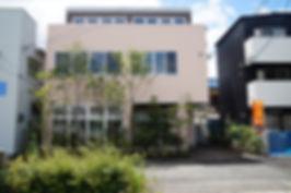 新社屋の設計 大阪 | 大阪 | Cooplanning | 尼崎市大西町 尼崎のオフィス 外観.植栽グリーンスペース