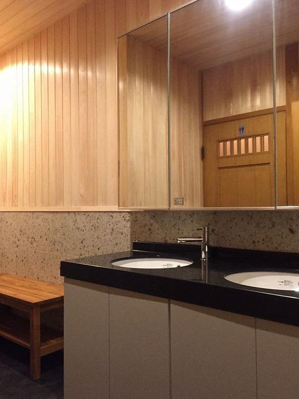 住宅リノベーション 大阪 | 大阪 | Cooplanning | 東大阪市龍間 生駒山荘の別荘 洗面.浴室リフォーム