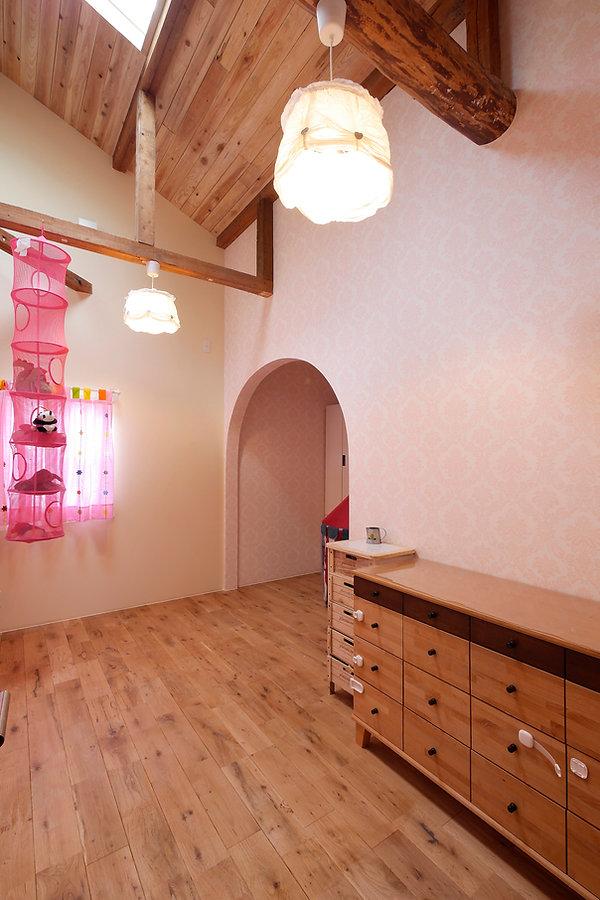 大阪市の住宅リフォーム | 大阪市 | Cooplanning | 大阪市中央区 空堀の注文住宅 2階子供部屋