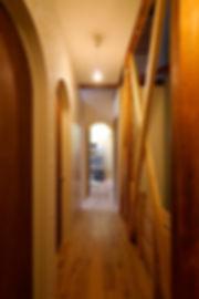 大阪市の住宅リノベーション | 大阪市 | Cooplanning | 大阪市中央区 空堀の注文住宅 2階廊下