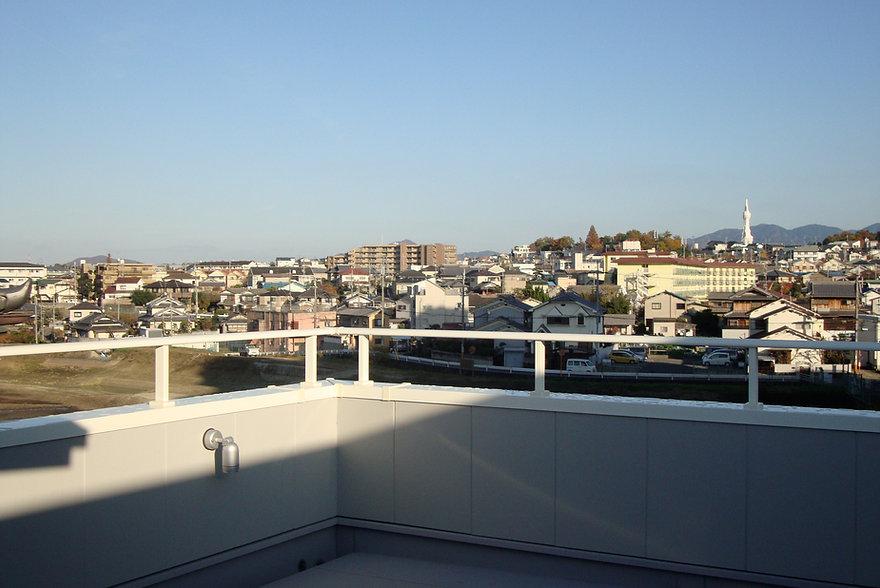 大阪狭山の注文住宅 | 大阪 | Cooplanning | 大阪狭山市 狭山の家 屋上テラスからの眺め