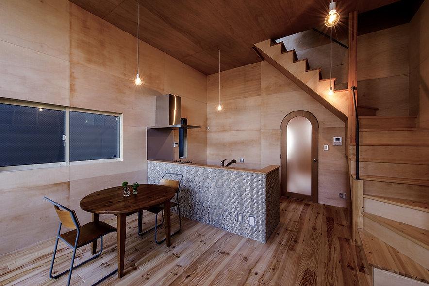大阪狭山の注文住宅 | 大阪 | Cooplanning | 大阪狭山市 狭山の家 2階ダイニングキッチン