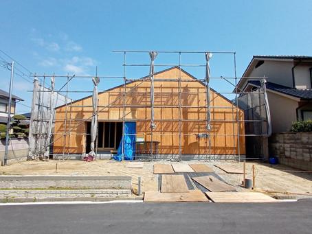 羽曳野の住宅 新築工事 平家建て住宅です。