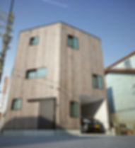 大阪市西区 / 狭小住宅 . デザイン注文住宅 設計 / Coo Planning