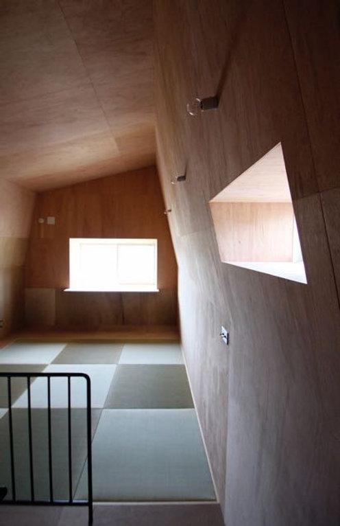 箕面の注文住宅 | 大阪 | Cooplanning | 箕面森町の注文住宅 屋根裏ゲストルーム