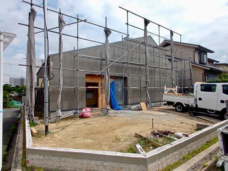 平屋建て デザイン住宅 大阪の設計事務所