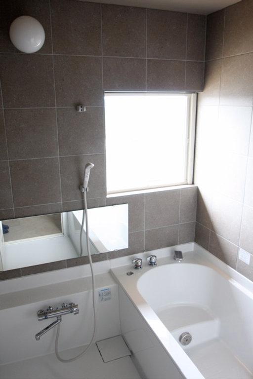 箕面の注文住宅 | 大阪 | Cooplanning | 箕面森町の注文住宅 浴室ハーフユニット