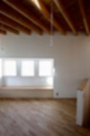 大阪府箕面市の注文住宅 | 大阪 | Cooplanning | 箕面の店舗付き住宅 内観.2階リビングスペース