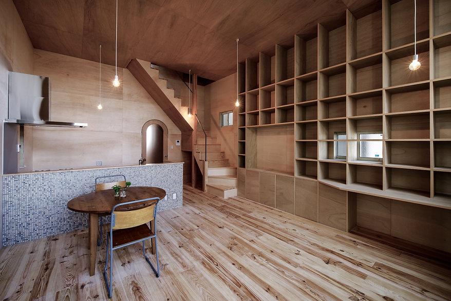 大阪狭山の注文住宅 | 大阪 | Cooplanning | 大阪狭山市 狭山の家 2階LDK