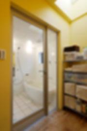 大阪市の住宅リフォーム | 大阪市 | Cooplanning | 大阪市中央区 空堀の注文住宅 2階浴室