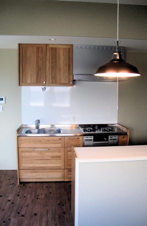 大阪府池田市の注文住宅 | 大阪 | Cooplanning | 池田の家 内観.WOODONEのキッチン