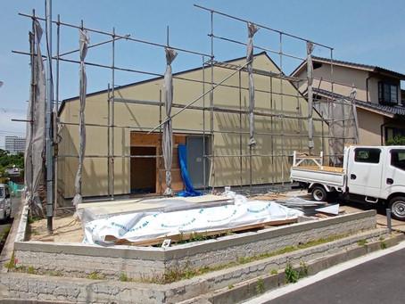 大阪府羽曳野市 注文住宅の新築工事