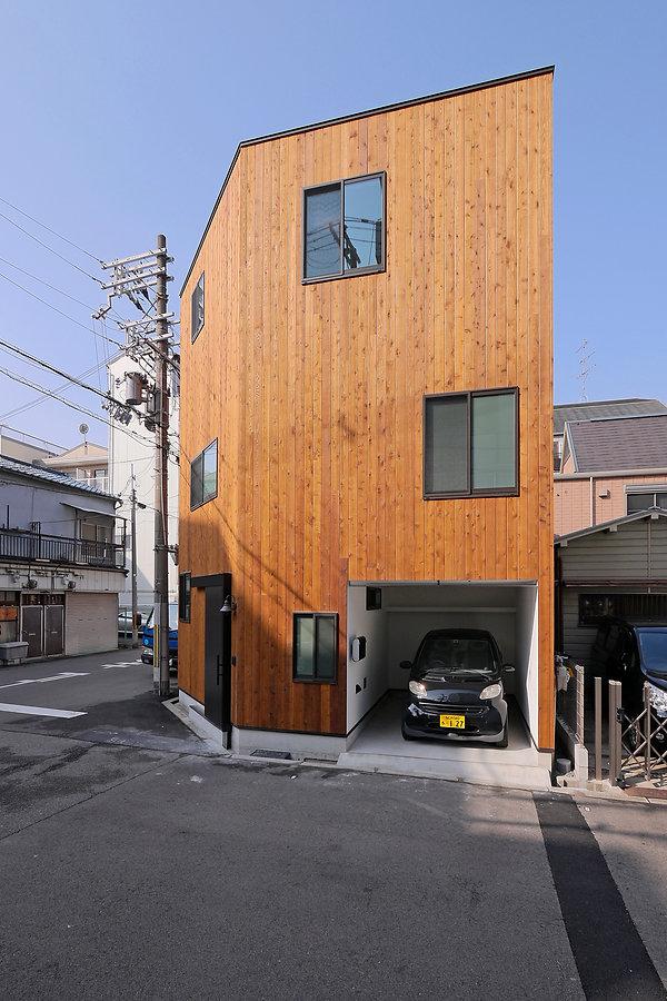大阪の狭小住宅 | 住宅設計室 Cooplanning | 大阪市西区 新築