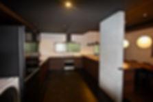 住宅リノベーション 大阪 | 大阪 | Cooplanning | 東大阪市龍間 生駒山荘の別荘 キッチンスペース