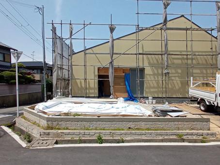 大阪府南部 羽曳野の住宅 新築工事