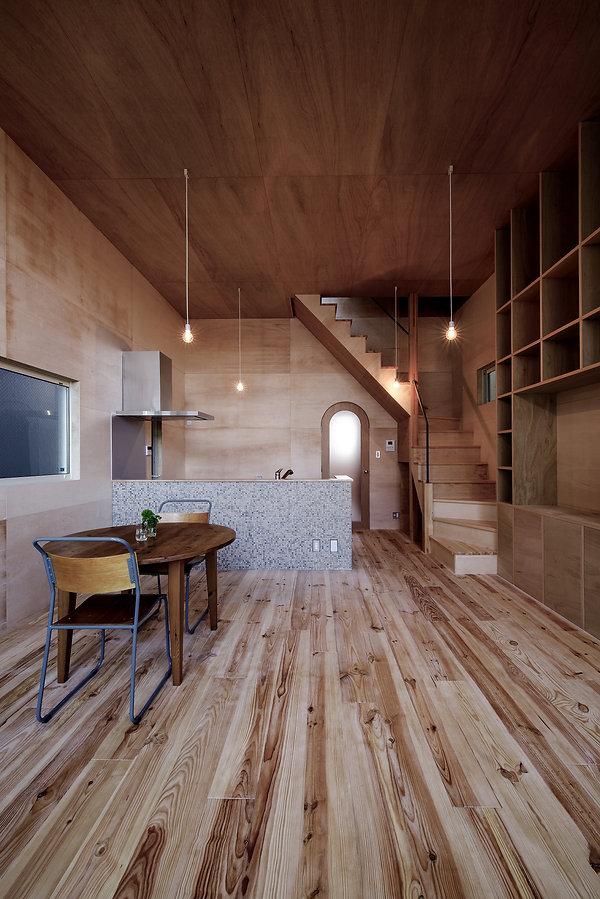 大阪狭山の注文住宅 | 大阪 | Cooplanning | 大阪狭山市 狭山の家 2階LDK 天井高さ3.5m