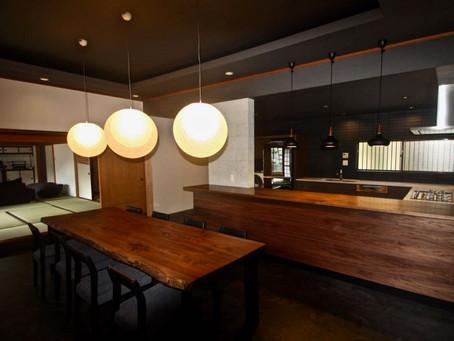 中古住宅を購入後のリノベーション。生駒山荘の別荘リノベーション。