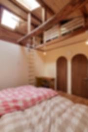 大阪市の住宅リフォーム | 大阪市 | Cooplanning | 大阪市中央区 空堀の注文住宅 2階寝室