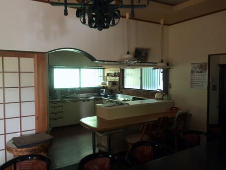 東大阪市での中古住宅のリフォームの設計。ビフォーアフターの様子。