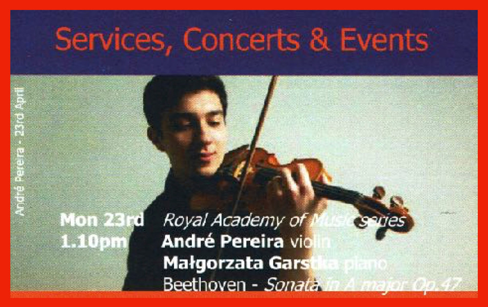 A VERY SPECIAL CONCERT