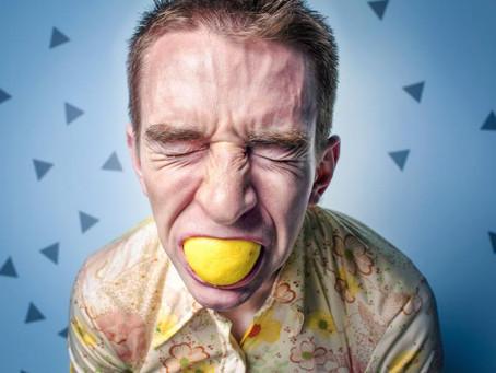 Rather eat a lemon?