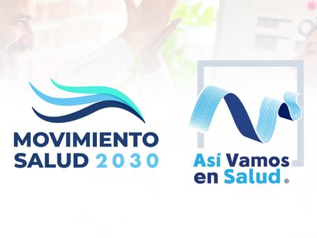 Movimiento Salud 2030 y Así Vamos en Salud, socios por la innovación del sector en Colombia