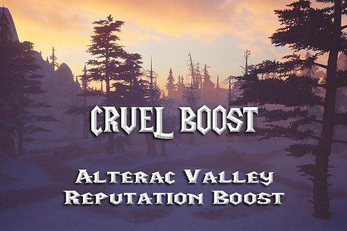 -Alterac Valley Reputation Boost-