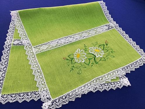 "Салфетка ""Цветы"" 40х80 см"
