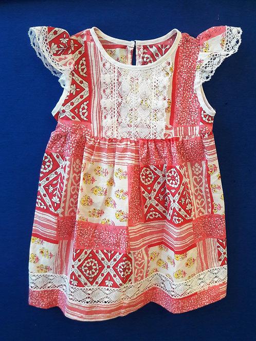 Платье детское из батиста