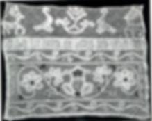 Прошва на полотенце (фото из книги В.А. Фалеевой Русское плетеное кружево)