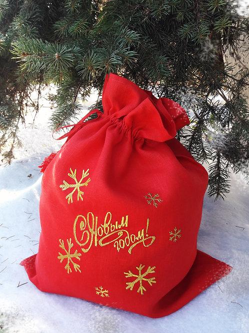 "Мешок для подарка ""Новогодний"""
