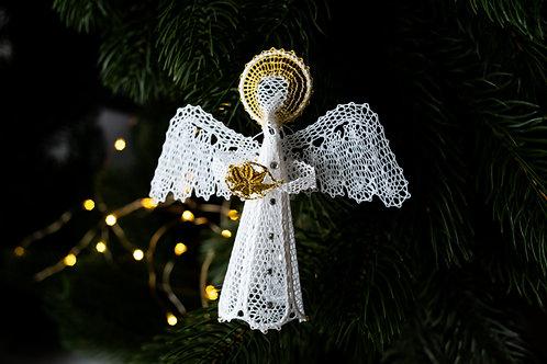 "Сувенир ""Ангел"" (ручное кружево)"
