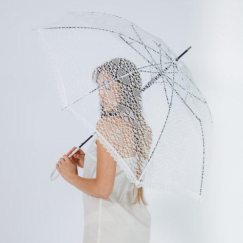 Зонт из машинного кружева