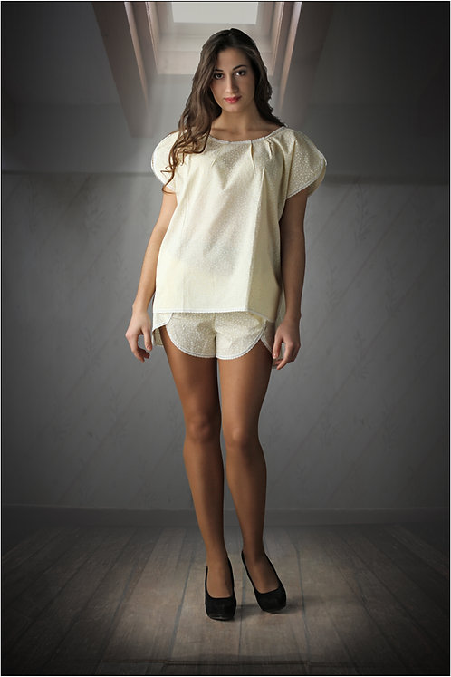 Пижама женская (блуза, шорты)