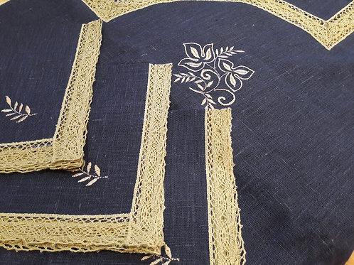 Набор: скатерть 150х210 см + 12 салфеток