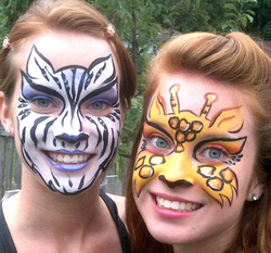 Wild Animals Adult Face Painting