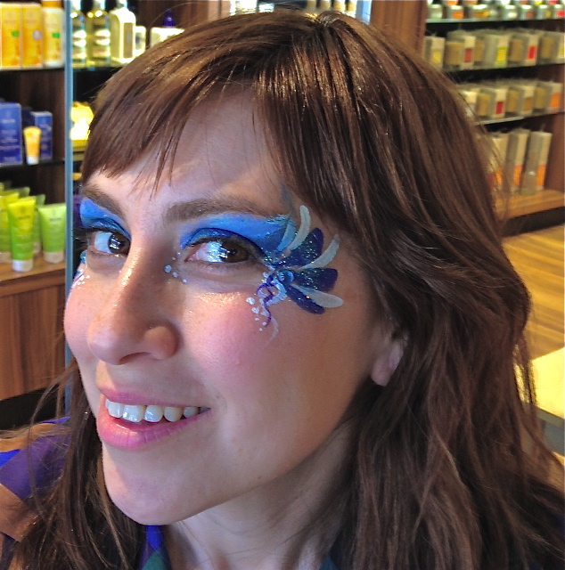 Glitter Adult Face Painting
