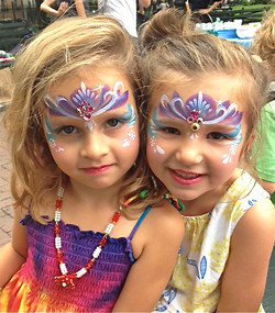Princess Face Painting