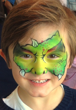 Monstor Face Painting