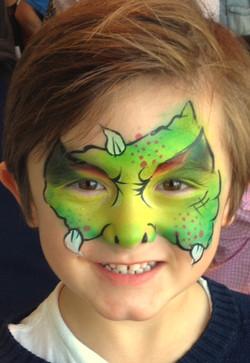 Monstor Face Painting