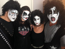Rock & Roll Adult Face Painting