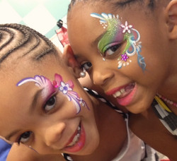 Fairy Face Painting 2