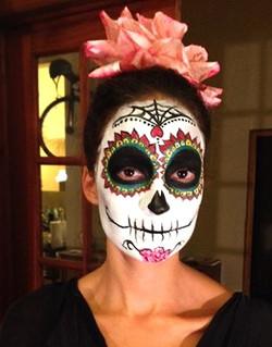 Los Dios des Muertos Face Painting
