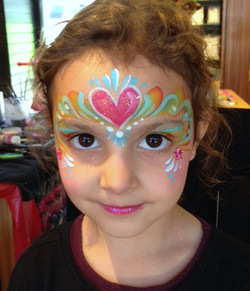 Queen Face Painting