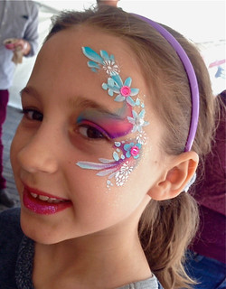 Flower Fairy Face Painting