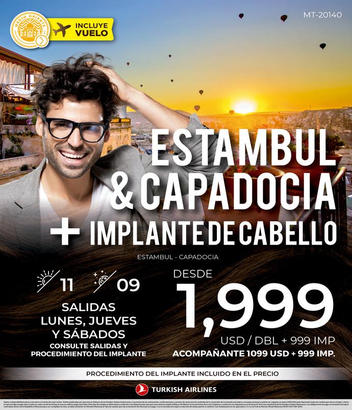 Estambul y Capadocia + Implante de Cabello