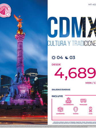 CDMX CIUDAD DE MÉXICO