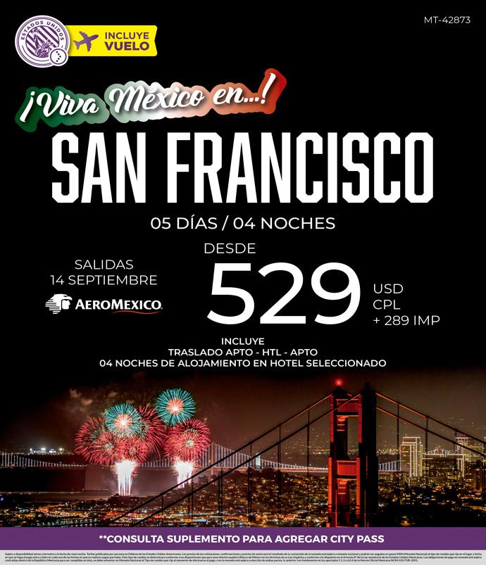 Viva México en San Francisco