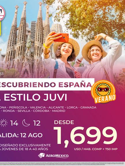 Descubriendo España al estilo Juvi
